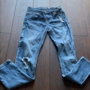 Lucky Brand 🍀 Girls Jeans Size 8 Zoe Skinny